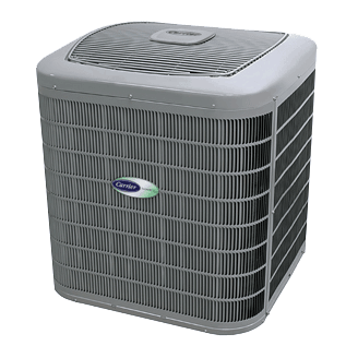 Carrier Infinity 17 Coastal central air conditioner.
