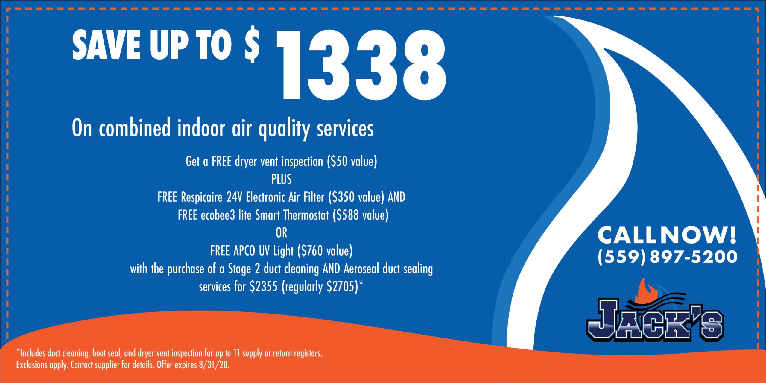 Save Up To $1338 On Indoor Air Quality Services
