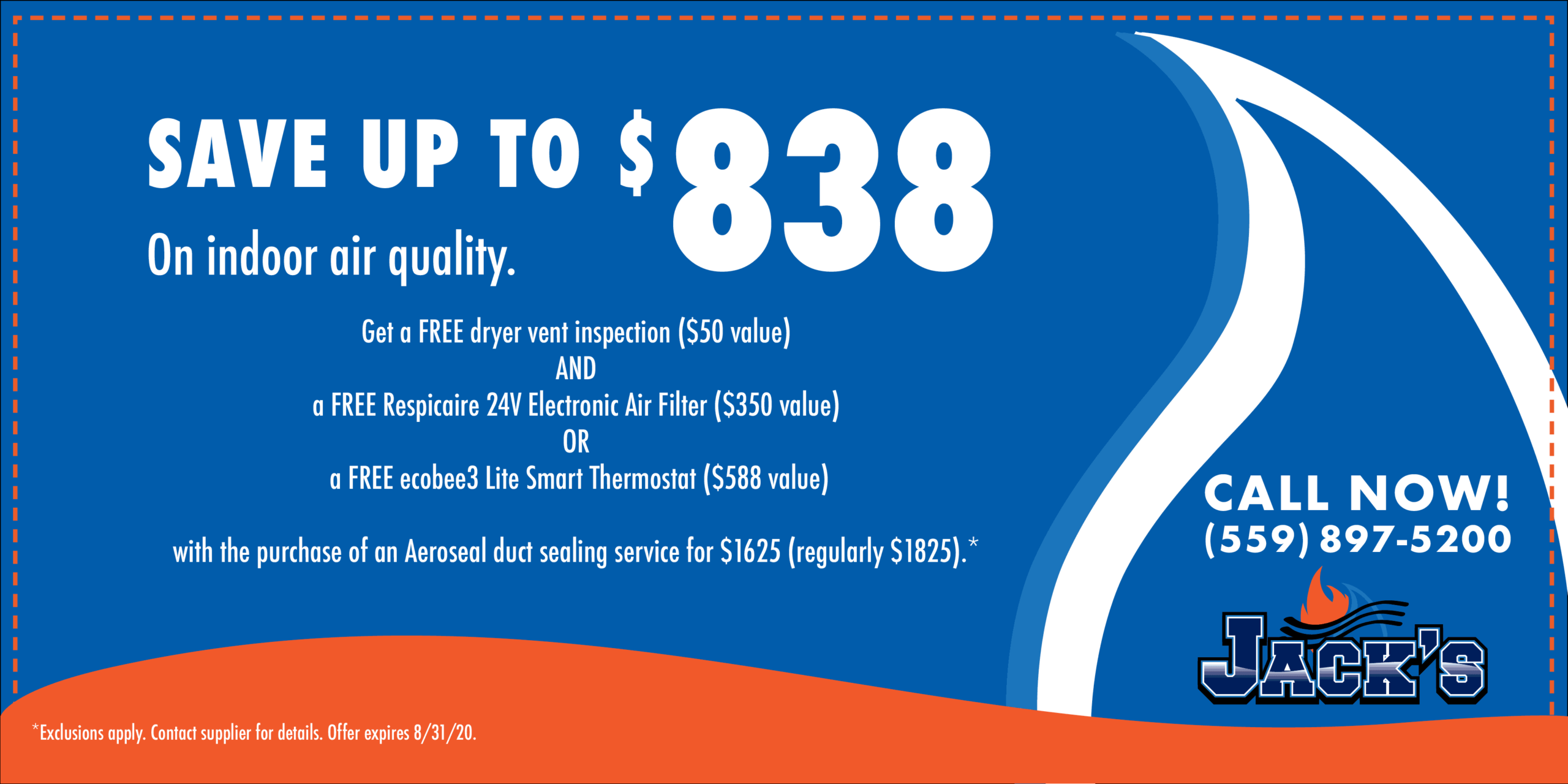 Save Up To $838 On Indoor Air Quality